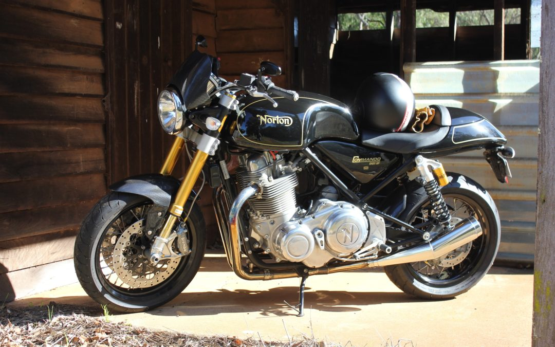 Going Commando – The Motor Shed Norton