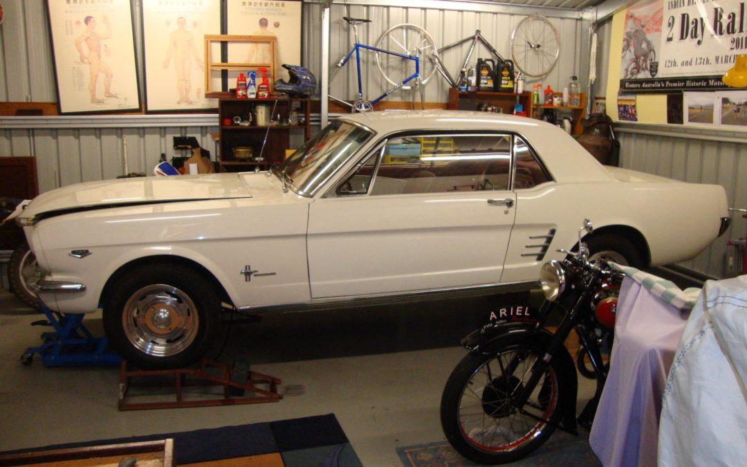 The Motorshed Mustang Rebuild, part I.