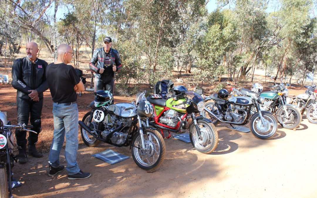 Vintage Motorcycle Hill Climbs in Western Australia