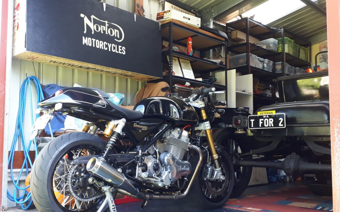 Norton M50 project, part II