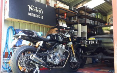 Norton M50 project, part II