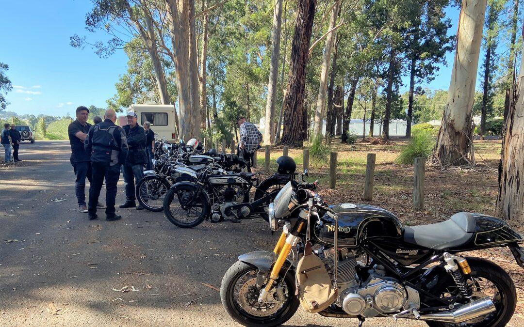 Norton Singles (cylinder) Run, Donnybrook, Western Australia